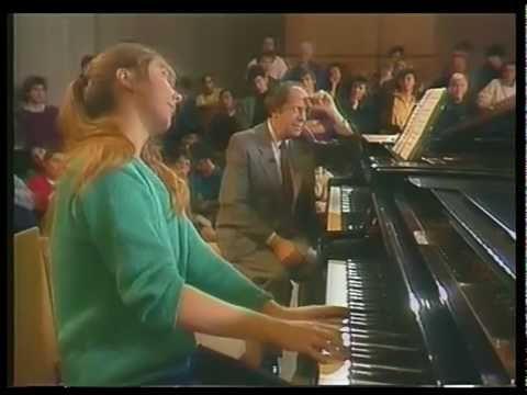 Piano Masterclass Gyorgy Sebok 1987