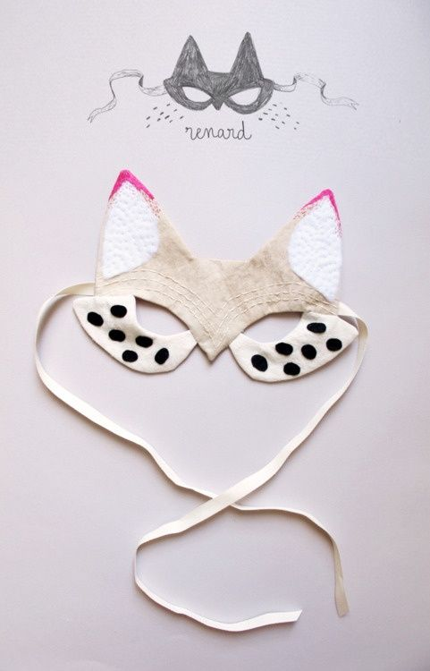 Image of Fox Mask by Lucille Michieli