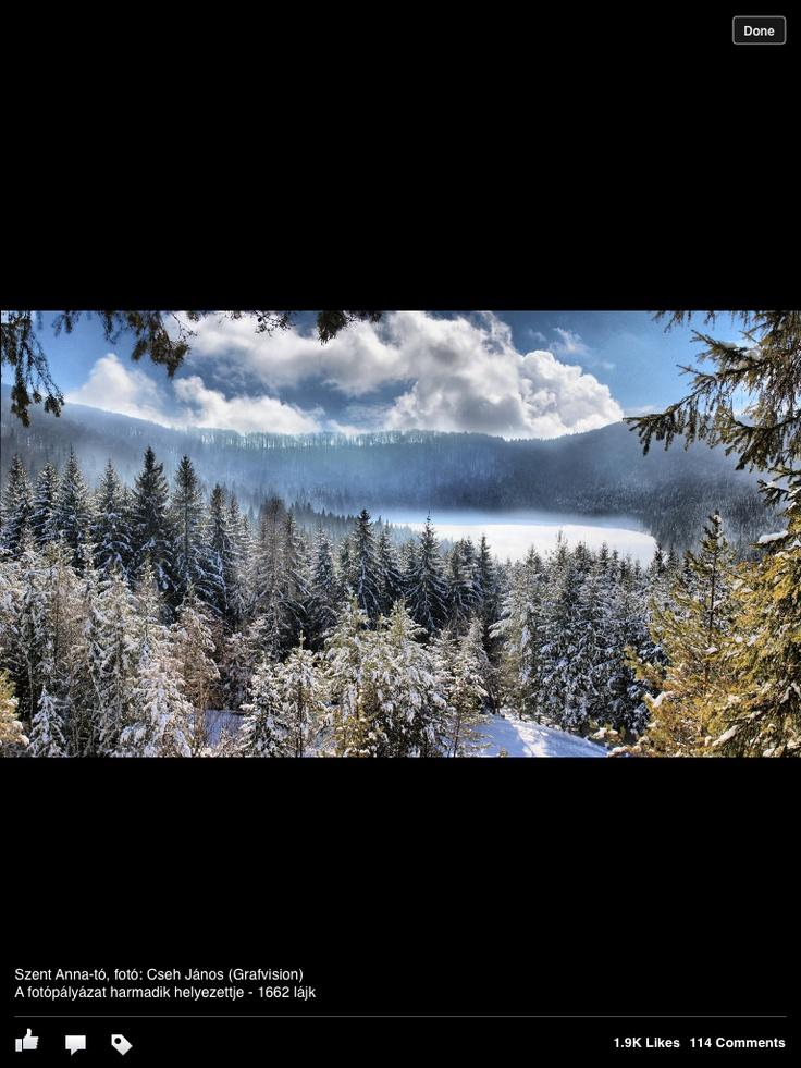 Szent Anna tó, Székelyföld