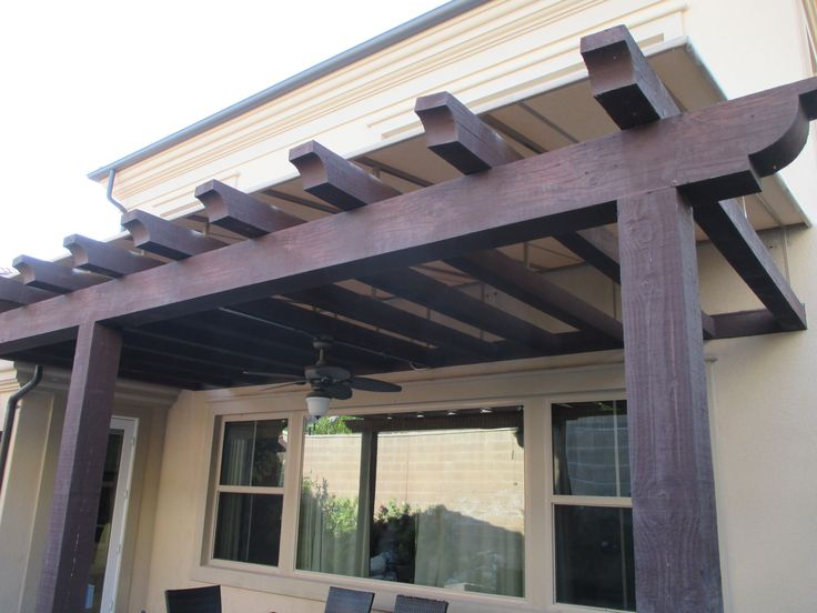 53 Best Sloped Trellis Awning Covers Images On Pinterest