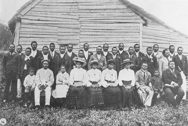 Members of the South Sea Island Mission in the Nambour district, Queensland, 1906