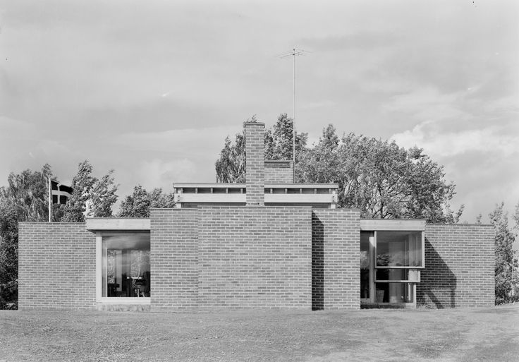 Villa Norrkoping, Sweden (1963-64) | Sverre Fehn