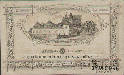 Muzeum cennych papiru A1594 Rumburger Kapuzinnerkloster