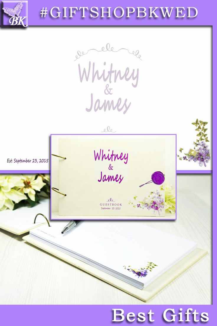 Rustic Shabby Chic personalized wedding Guestbook Custom keepsake Wood Wooden Guest book Names Bride Groom His Her mr mrs Bridal Shower gift Favors monogram #giftshopbkwed #wedding #guestbook #ceremony #guest #personalized #gift #rustic #book #advicebook #Bride #Groom #His #Her #mr #mrs #Birthday #anniversary #custom #bridalshower #monogram #wood #wooden #diy #advice #shabbychic #favor #notebook #love #tree