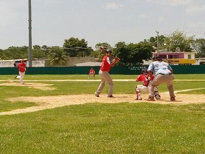 Heroica Ciudad de Champoton, Campeche 06 de Julio del 2017.- ( John Rosado/Beisbol Campechano ).- El equipo Malixes derroto al equipo Tlacua...