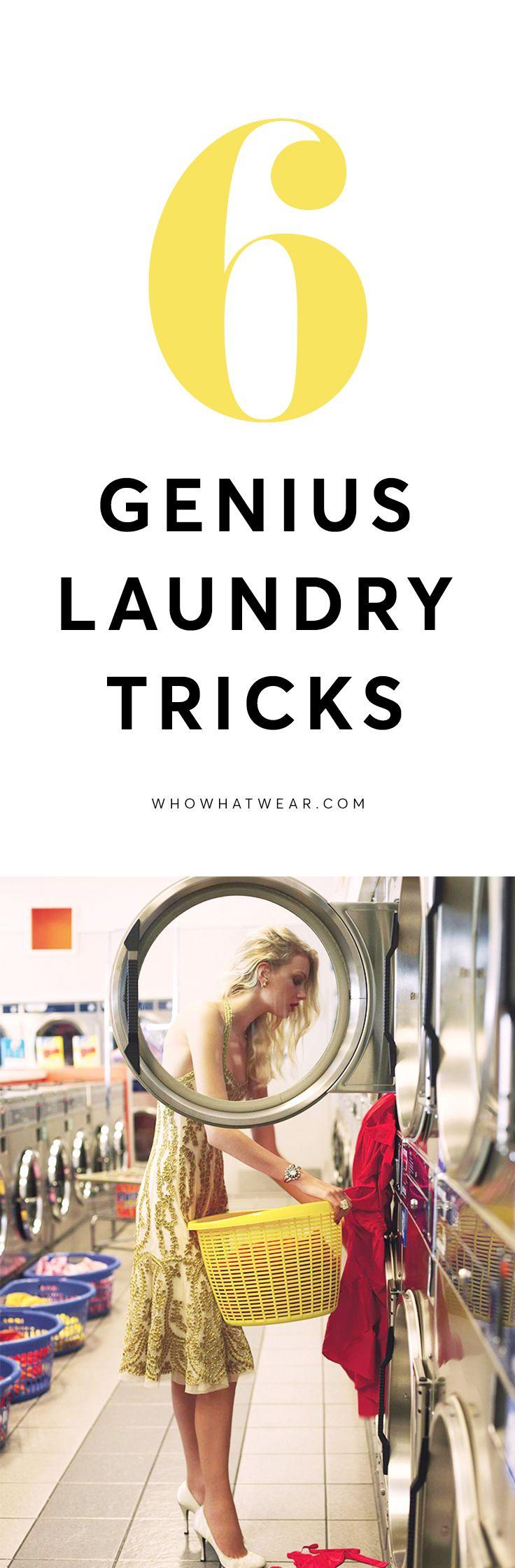 Life-changing laundry hacks