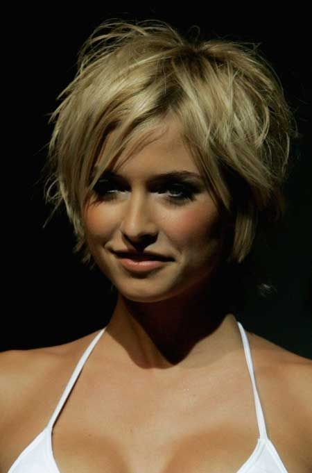 Messy Short Hairstyles for Women | 2013 Short Haircut for Women