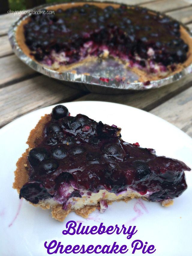 An amazing combination of a blueberry pie and a cheesecake in one easy dessert recipe.  Grab a spoon for this blueberry Cheesecake Pie