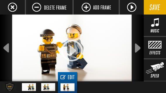 PRODUKTION: I denne gratis app Lego moviemaker kan eleverne lave små stop-motion produktioner.