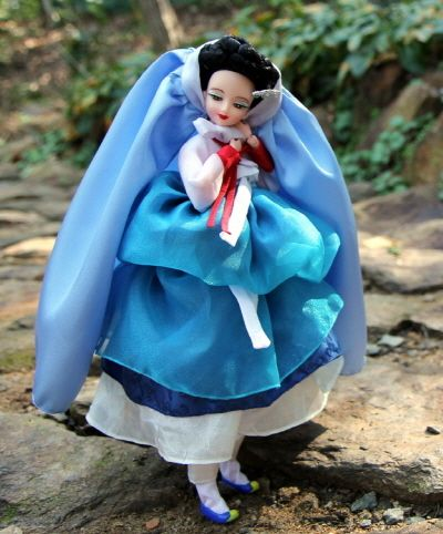 DOLLS KOREA, Hanbok, Korean traditional style