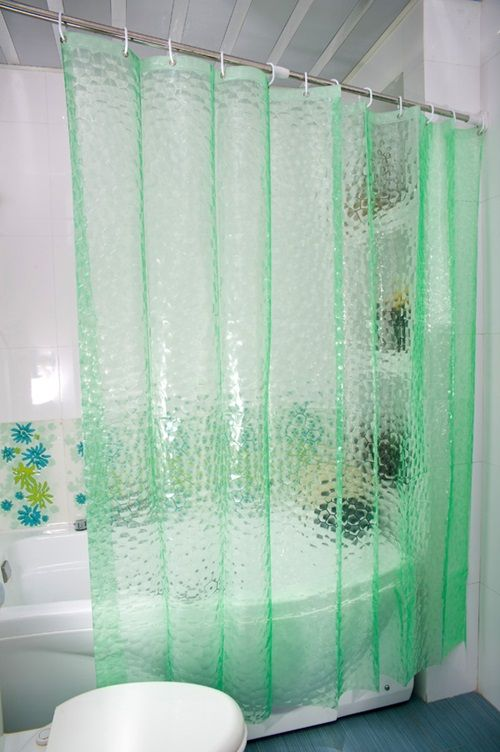 1000 Ideas About Bathroom Window Curtains On Pinterest Fabric Shower Curtains Window