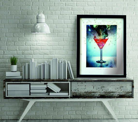 cocktail wall decor kitchen decorkitchen wall handing