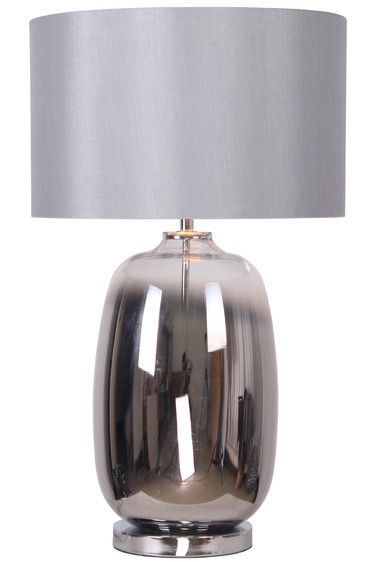 Lincoln Table Lamp Silver
