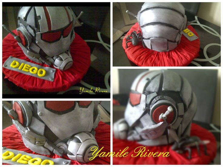 Ant Man Cake Design : 17 Best images about Torta de Ant-man on Pinterest Toy ...