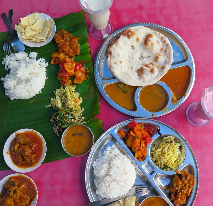 Indian Curry, Banana Leaf - Cameron Highlands