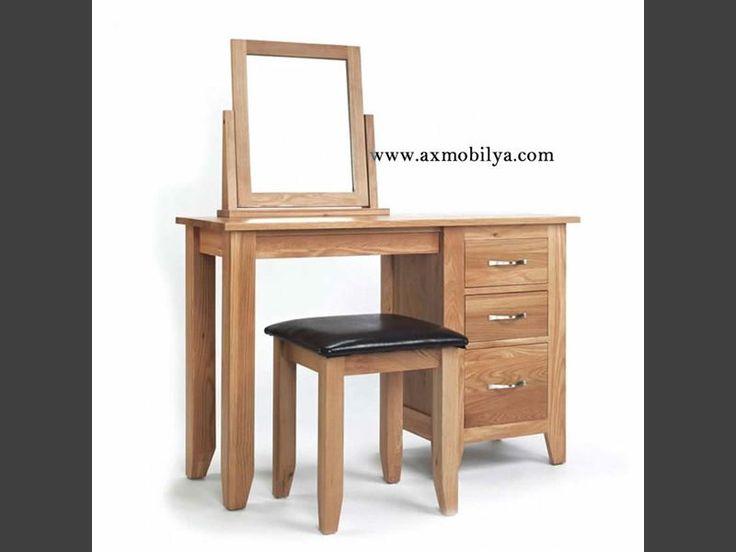 2015 Tuvalet Masaları AX10086 - Workistan Mobilya; #unpoo #furniture #workistan #masif #ahşap #mobilya #butik #imalat