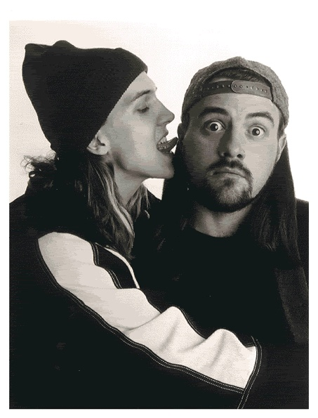 snooochie-booochies!!! Indeed jay and silent bob ( Jason mewes & Kevin smith) are two sexy fellas that are even sexier together