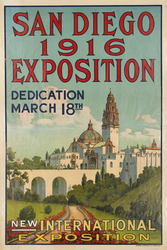 San Diego Exposition, 1916: Dentalimplantssandiego Biz, Vintage Posters, San Diego, Vintage Ephemera, 1916 Exposition, Diego 1916, Travelling Art, Travel Posters