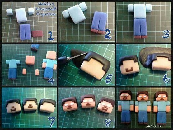 Minecraft figurine