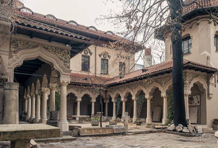 Stavropoleos Monastery - Bucharest, Romania