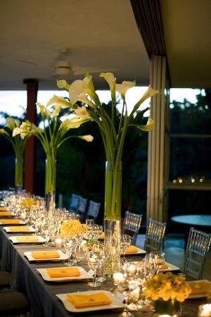 Os ofrecemos lo último en arreglos florales y centros de mesa para darle a vuestra boda un aire distinguido, chic y cosmopolita. by lucinda