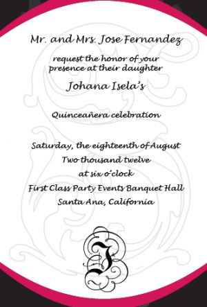 how should i word my quinceanera invitations precious quince