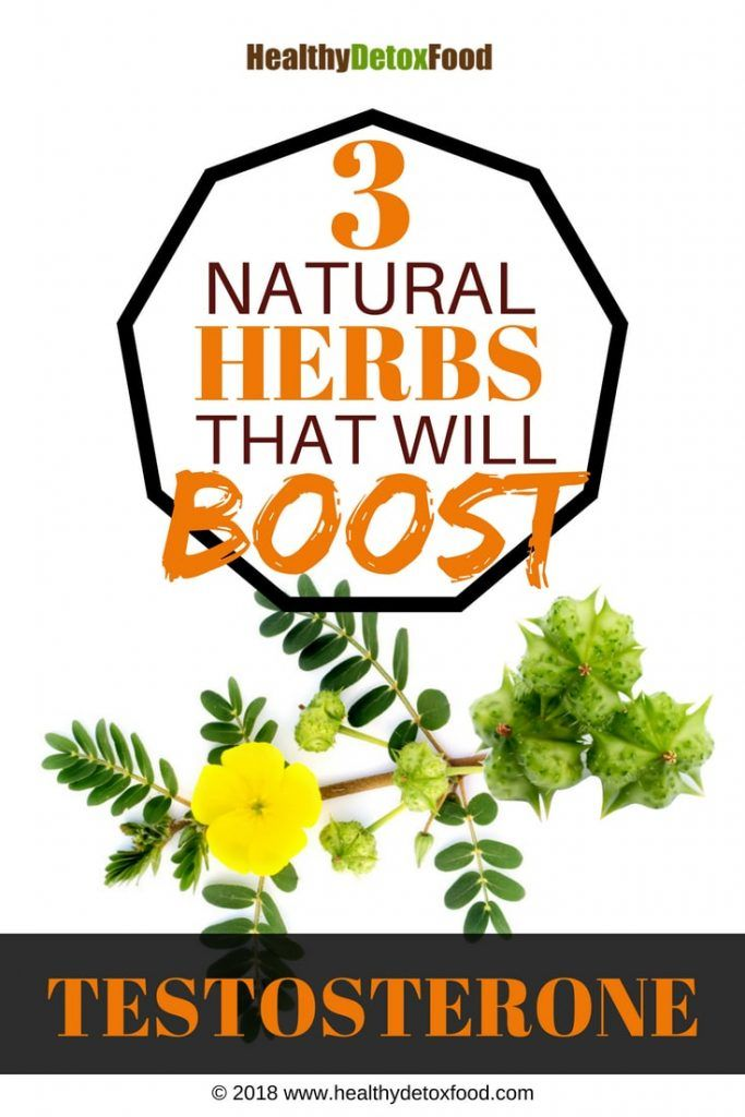 3 Herbs That Boost Testosterone Naturally   Healthy Detox