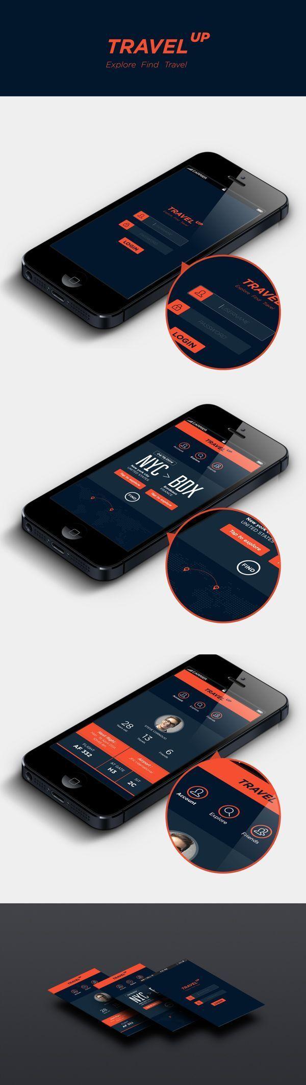 Inspiration Mobile #12 : Interfaces & éléments | Blog du Webdesign