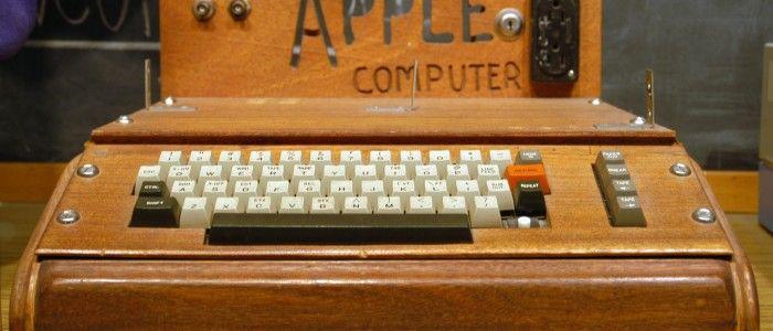 El primer ordenador de Apple valorado en 200.000 dólares reciclado
