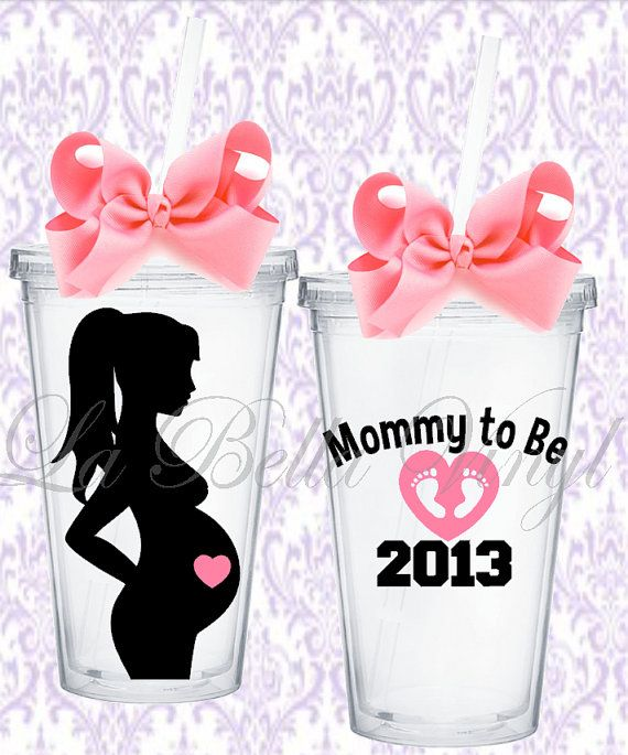Need this so i can put my many varieties of juices in for my super crazy preggo 21st birthday! Mommy to Be 16 oz Acrylic Tumbler