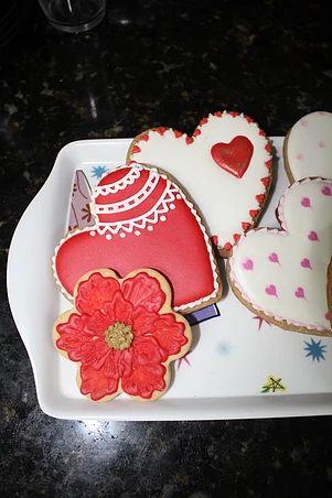 sukielanzafestas | cookies heart, biscoito de coração