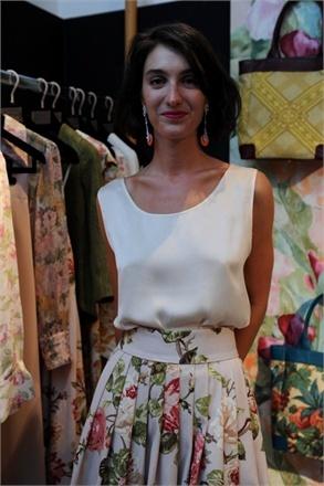 Marta Ferri / floral skirt