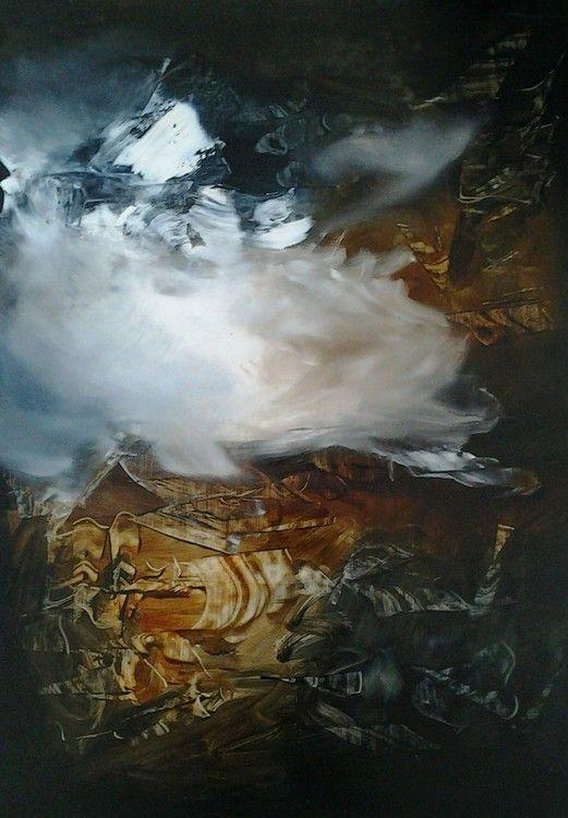savanti1510.jpg - Painting,  72x50 cm ©2015 par V. Savanti -  Peinture
