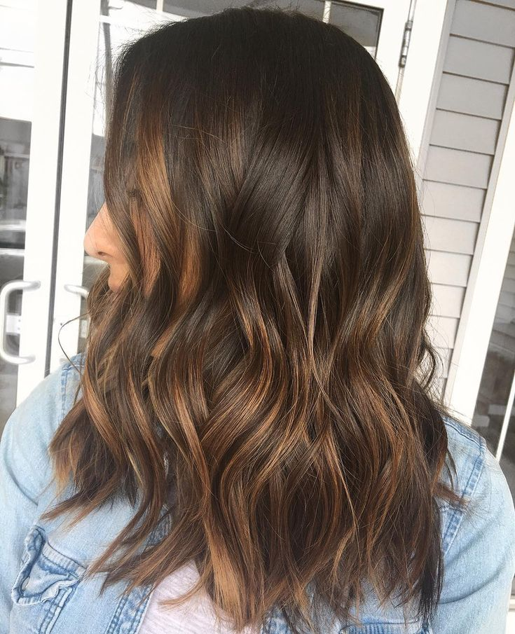 Sunkissed Brunette Redken Shades Eq 6gn 6n 9b