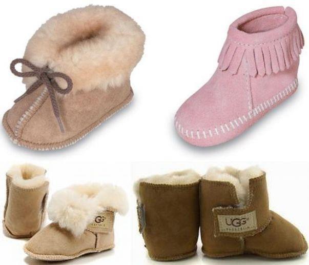 Зимняя обувь для новорождённых