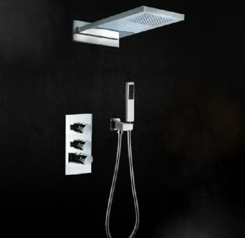 shower and sink faucet sets. Chrome Polished Thermostatic Bathroom Shower Faucet Set Rainfall  Head with Handheld ICON2 Luxury Best 25 faucet sets ideas on Pinterest Oil rubbed bronze