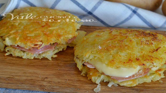 Chrumkavé zemiakové placky so šunkou a syrom bez múky a vajec! Hotové za 15 minút! - Báječná vareška