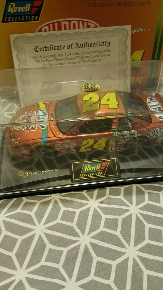 Revell Collection1/24 Jeff Gordon #24 Dupont Chromalusion 1998 Chevy Monte Carlo in Toys & Hobbies, Diecast & Toy Vehicles, Cars: Racing, NASCAR | eBay