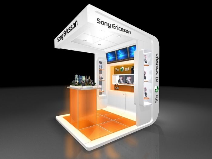 Simple Exhibition Stand Goals : Booth by julian jaime at coroflot exhibitions trade