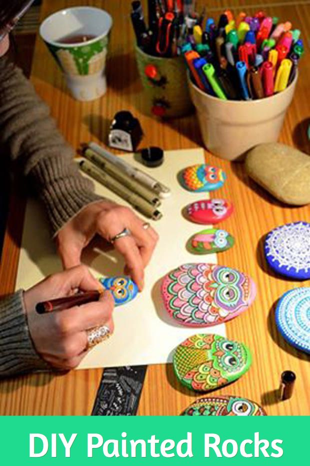 Exactly how to make  DIY painted rocks! http://www.bellissimakids.com/how-to-make-painted-rocks/