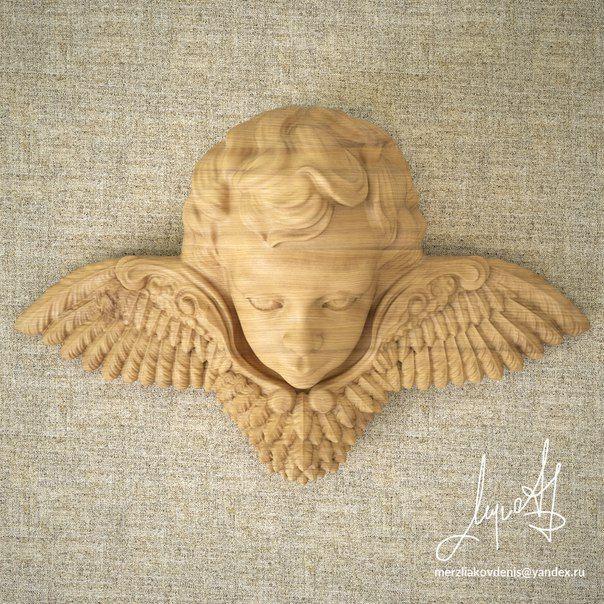 angel 3d model, 3д модель ангел