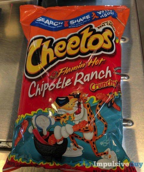 Cheetos Crunchy Flamin' Hot Chipotle Ranch