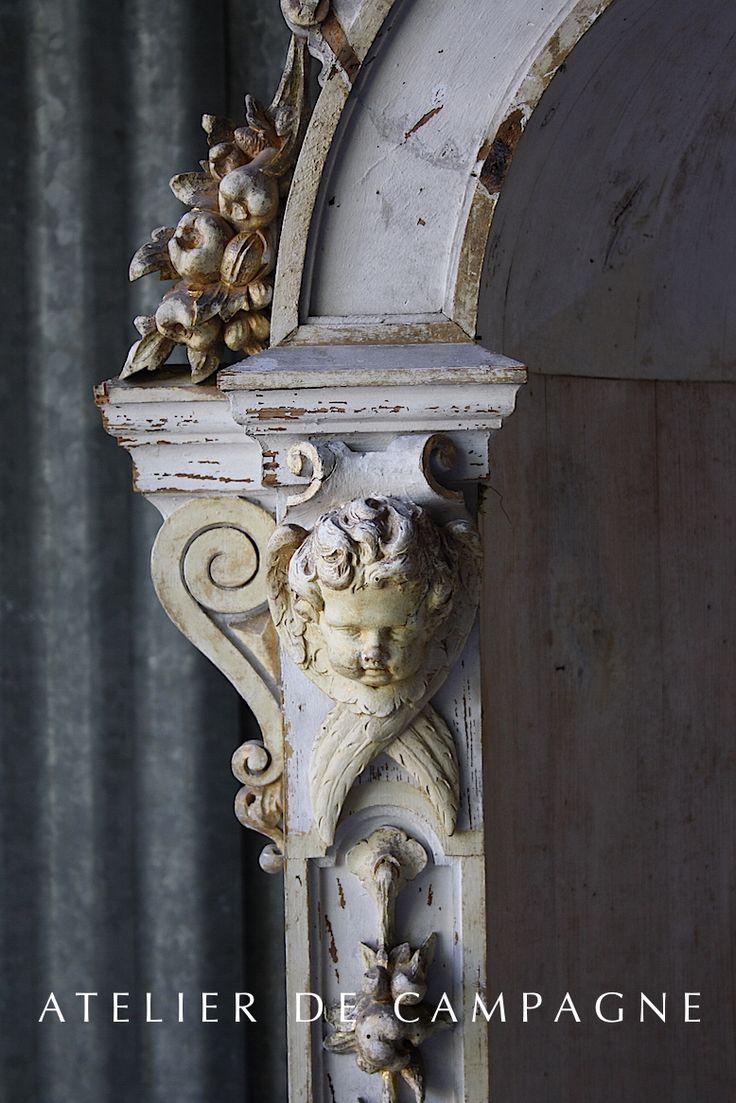 French Wooden Church Nicho