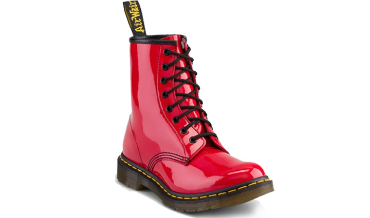 Honorary mention...hello red patent leather doc martins!!! Oh yeah!