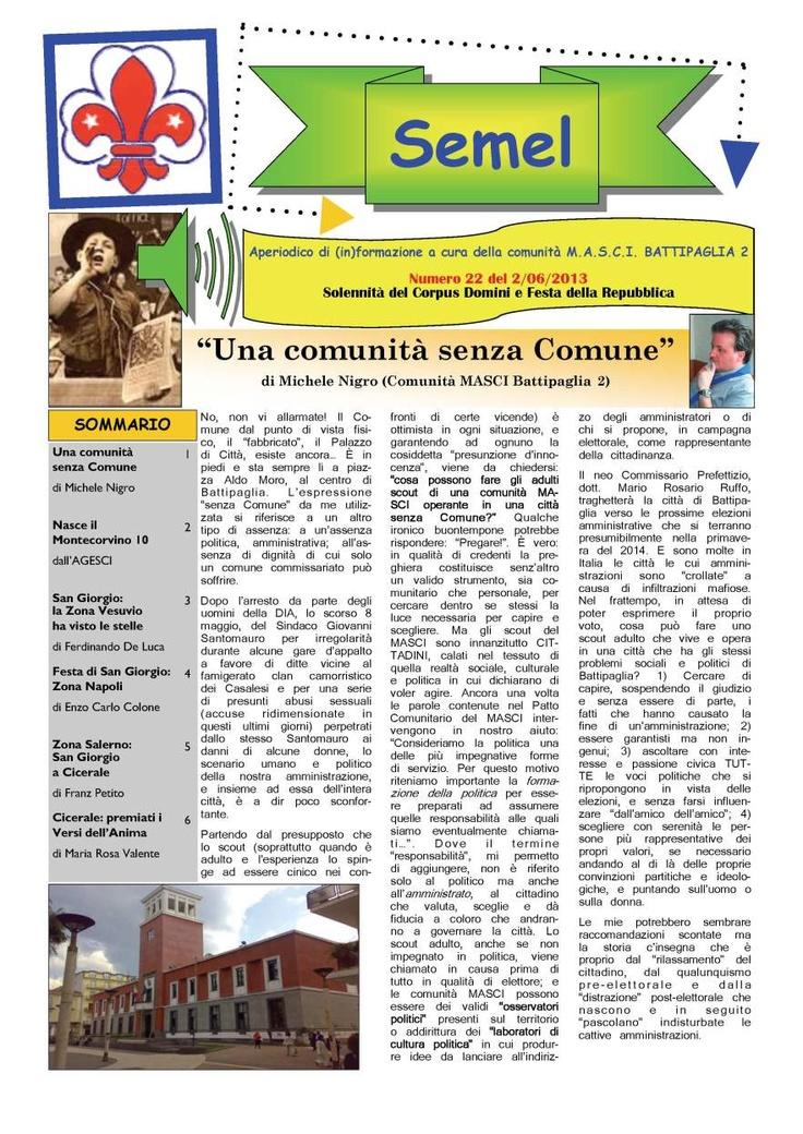 Semel n.22.jpg PAG.1_Pagina_1