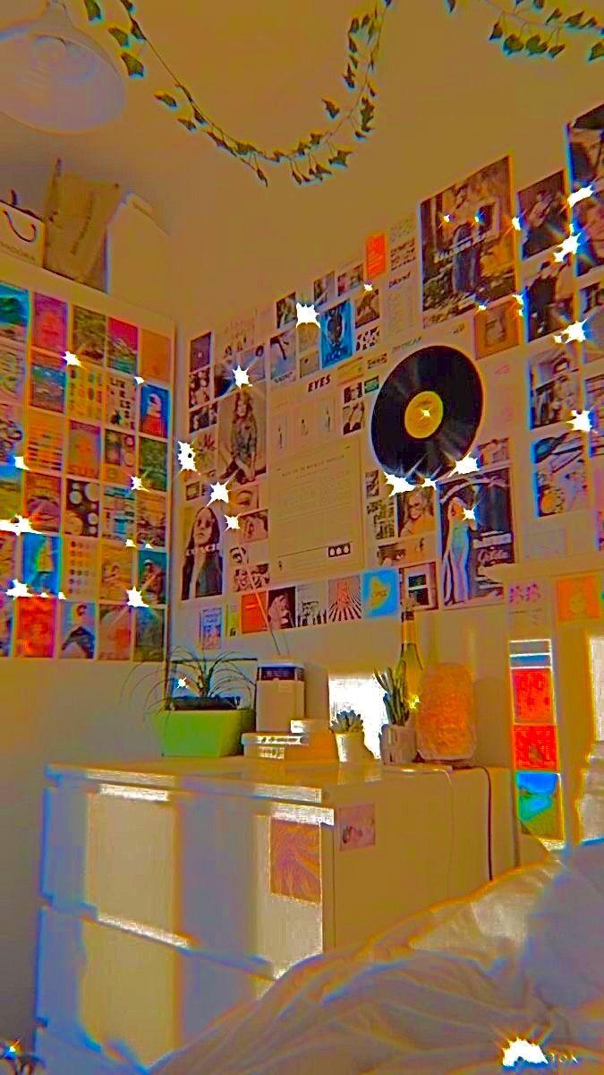 Diamondglcss Dreamy Room Indie Room Indie Bedroom