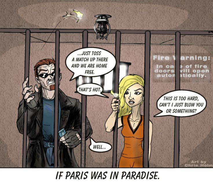 If Paris was in Paradise - by Chris Holm