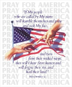 Pray for our Judeo-Christian Nation United States of America | Pray for our American Heroes and Nation