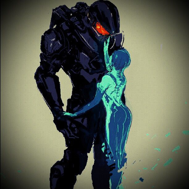 My boyfriend made me love this damn game. This is real love :) Right here with master chief and cortana! David! Thank you for making me love this game!