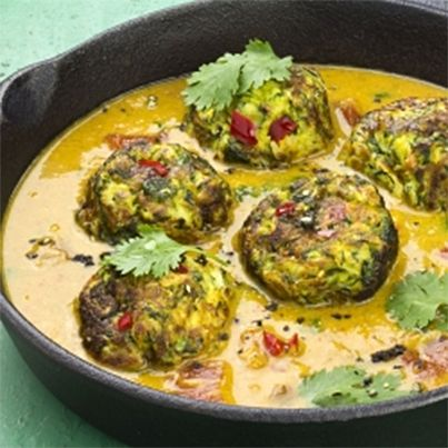 Spicy Courgette Balls